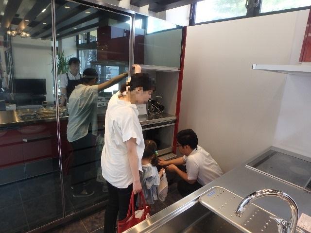 クリナップ 食器棚 リフォーム